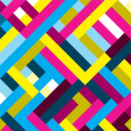 Color Pattern vector achtergrond
