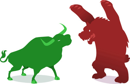 average: Illustration about Wallstreet symbols. Illustration