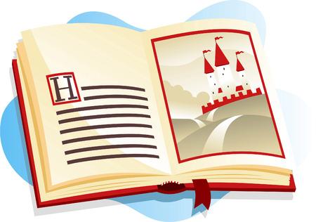 Illustration of a Children's Books.