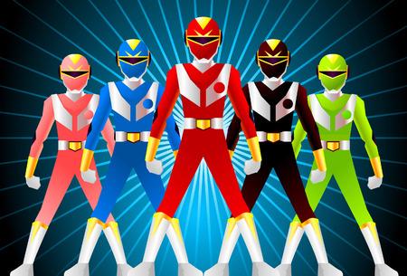 japan super hero team