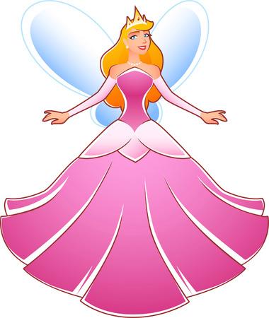 tinker bell: Princess Fairy Cartoon Illustration