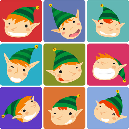 drollery: Santa´s Elves chrstmas avatars