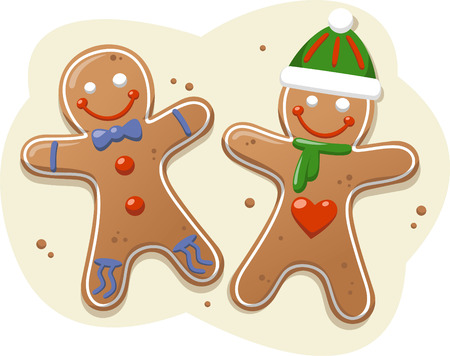 Gingerbread cookie design