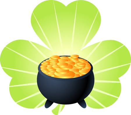 saint patrick´s day pot of gold