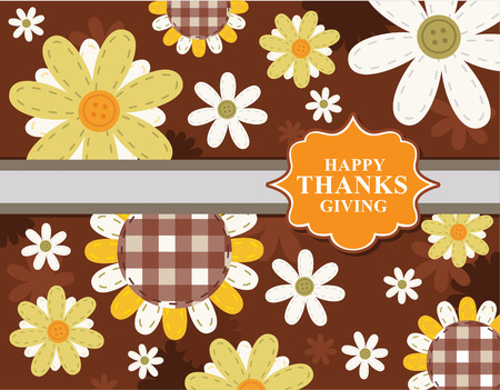 family holiday: happy Thanksgiving day leaves design