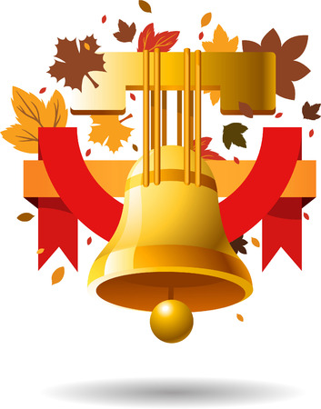 Thanksgiving day bell illustration