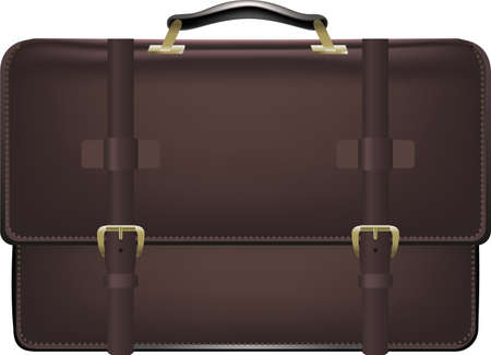 Suitcase briefcase suit case vector illustration