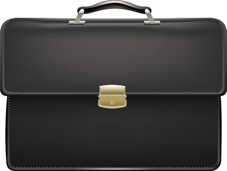 Traje maletín maleta ilustración caso vector