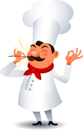 Chef´s taste Illustration