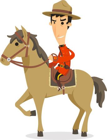 ranger: Canadese Ranger a cavallo
