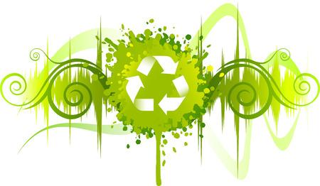 kompost: Bereiten Sie Symbol Hintergrund-Design
