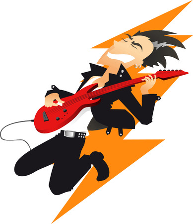 5,331 Guitar Player Stock Illustrations, Cliparts And Royalty Free ...