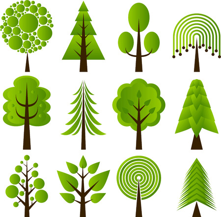 tree design icons
