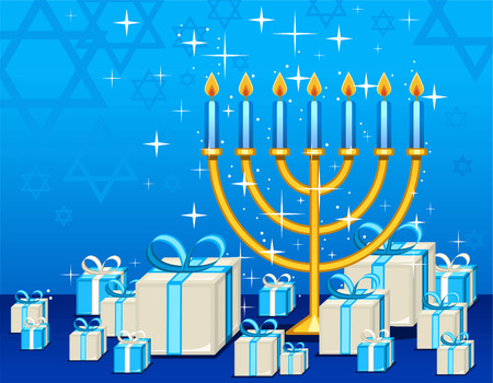 Celebrate your judaism with this Hannukah presents.