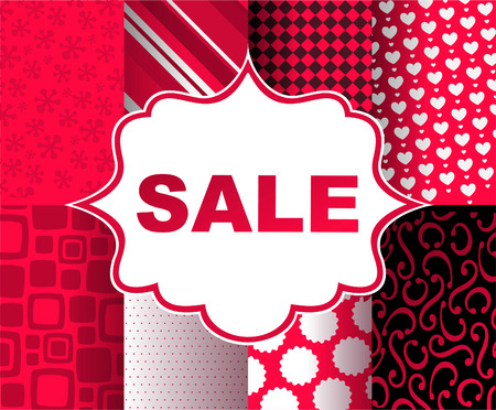 wrap vector: SALE clearance retail deal purchase Gift Wrap, vector illustration cartoon. Illustration