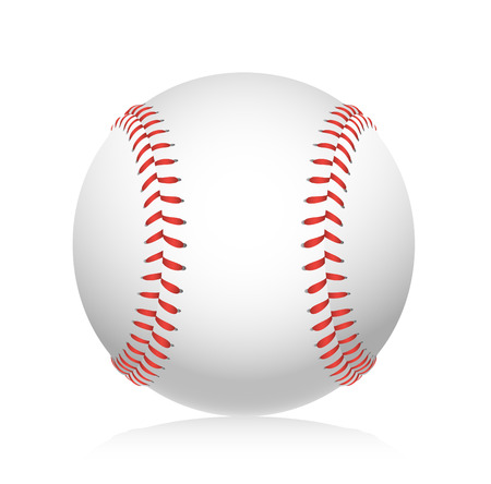 baseball game: Baseball ball illustration
