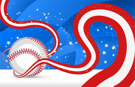 fast pitch: Baseball curves Illustration