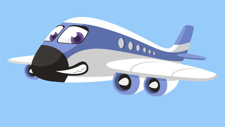 objects with clipping paths: airplane cartoon Aircraft Boeing Airbus airliner