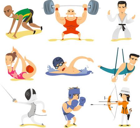 catch wrestling: sports illustrations