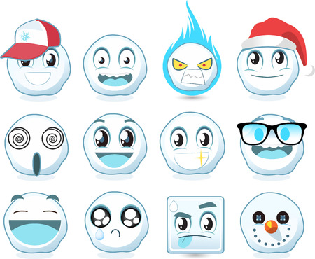 smileys: Snow ball smileys avatars