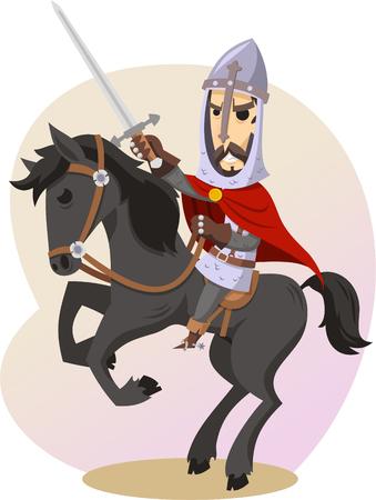 L'illustration de dessin animé de cid Banque d'images - 72078517