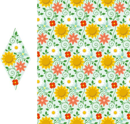 patter: flower patter