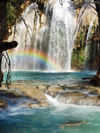 he: Chiflon waterfalls, Chiapas, Mexico