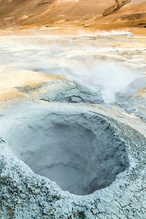 Geothermal activity zone in Iceland Banco de Imagens - 87096948