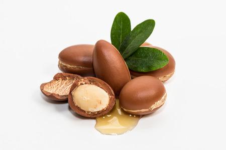 Argan oil, much appreciated in cosmetics Banco de Imagens