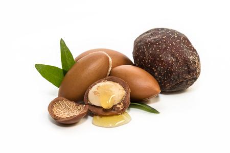 Argan zaden, voor de productie van olie. Zeer voedzaam voor huid en haar
