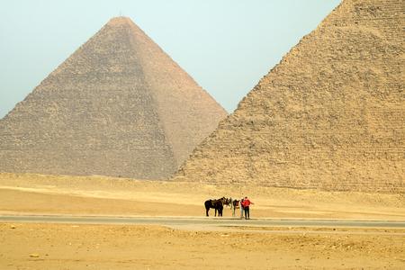 Pyramids of Cairo, Egypt