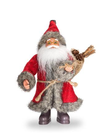 figur: Santa Claus doll.