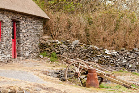 Stone Cottage Stock Photo - 9887323