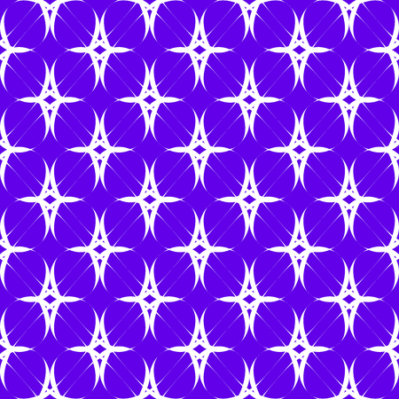 White patterns on a lilac background. Seamless pattern. Abstract vector background.
