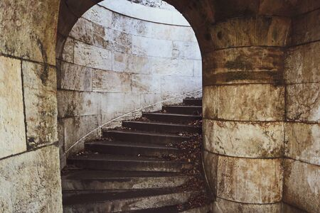 A staircase will lead up to the old castle.