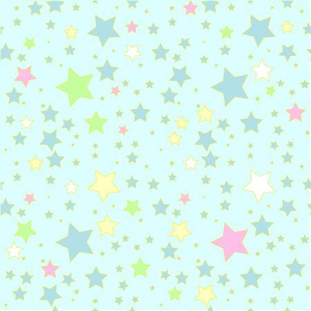 Retro colorful seamless geometric background