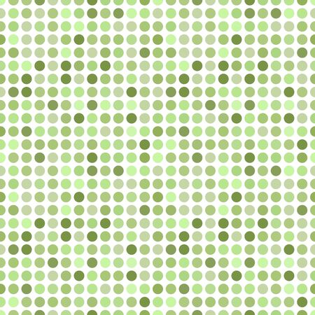 repeat square: Circles pattern in fashion trend colors