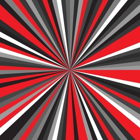 Color burst ornament vector banner