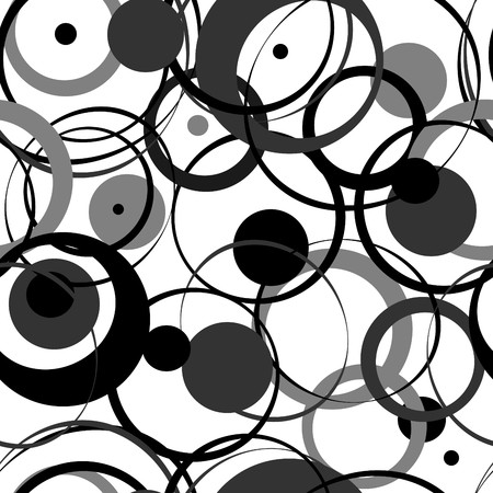 circles: Circles pattern in fashion trend colors