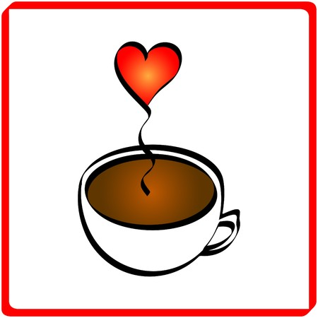 Cup of coffee Stock Vector - 8000780