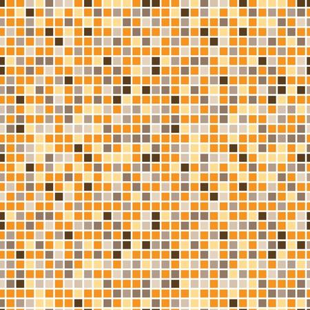 square detail: Patr�n de cuadrados en colores de tendencia de la moda  Vectores