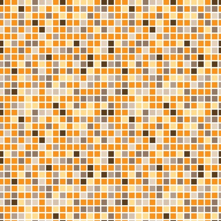 warm colors: Square pattern in fashion trend colors