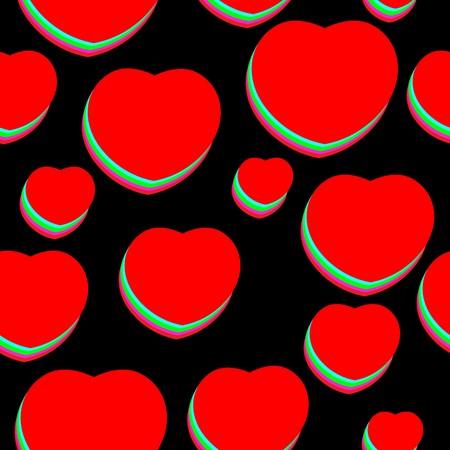 pop-art valentine background
