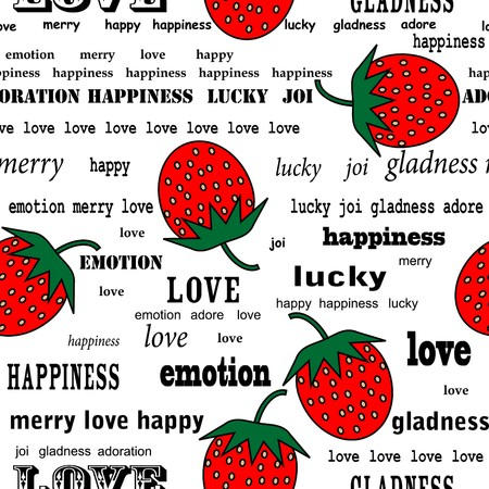 Strawberry repetitions Stock Vector - 8010574