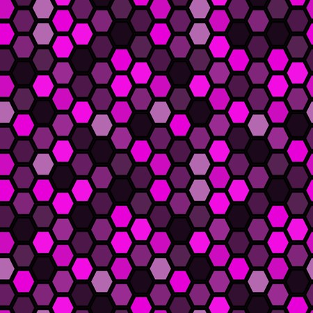 Hexagon tiles. Seamless   pattern Vector