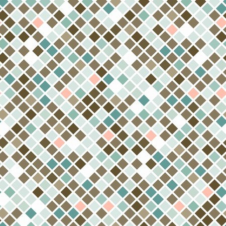 Abstract seamless brown tiles background