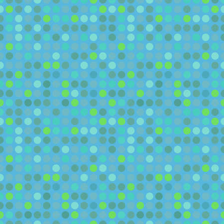 Circles pattern in fashion trend colors Vector