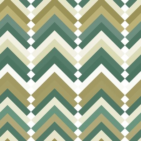 vivid: Retro vivid seamless background with green triangles