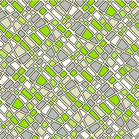 mosaic pattern: Abstract seamless grey tiles background