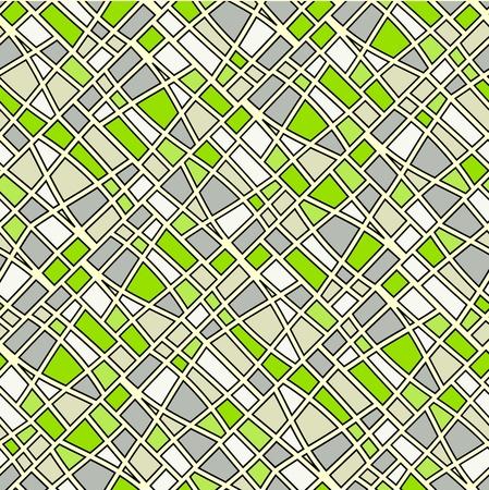 Abstract seamless grey tiles background Vektoros illusztráció